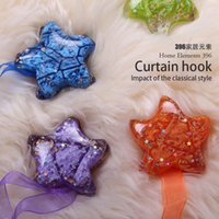Wholesale quality unique design fashion curtain bandage cartoon rare earth permanent magnet flower buckle