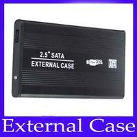 Wholesale 2 SATA External case External hard drives External drive case