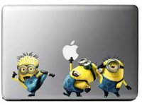 Cheap NEW hot Mr Minions Decal Sticker Skin for Apple MacBook Pro Air Mac Retina 13 sticker new cartoon style sticker free shippping