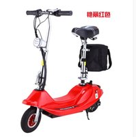 Wholesale Ms ice arashi mini electric car small folding storage battery electric bicycle electric scooter moped