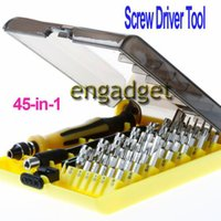 Wholesale 45 in Torx Precision Screw Driver Cell Phone Repair Tool Set Tweezers Mobile Kit A