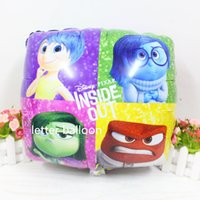 baby supplies agents - square DSN Brain agent team balloon inside out foil balao birthday air balloon supplies baby toy globos party Decoration