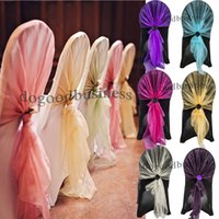banquet books - 90 colors Organza Samples book for chair sash table runner table swag wedding decoration party Banquet favor