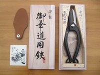 Wholesale Japan rakukiri Ikebana scissors mm sk5 steel Forge Flower scissors gardening scissors