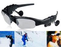 Wholesale Stereo Bluetooth Music MP3 Sunglasses Black