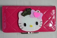 avatar wallet - new fashion design high quality PU leather pet hello kitty birthday Avatar women wallet cute purse selling