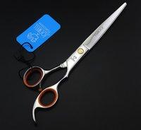 big hair salon - 7 inch Big Human Hair Cutting Scissors for Barbers Hair Scissors Hairdressing Scissors Hair Shears JP440C