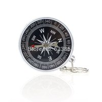 bearing navigation - 1PC Keychain Outdoor Camping Plastic Compass Hiking Hiker Navigation