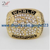 Wholesale New super bowl championship ring size astonishing k white gold plating quality