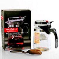 auto pots - Kamjove TP Glass Tea Pot Cha Dao Auto open Art Tea Cup ML