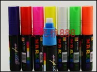 Wholesale 312 LED electronic fluorescent board pen color pen light board mirror luminous blackboard pen colors Highlighter