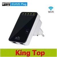 ap qos - 100 Original Mbps Wireless Wifi Repeater Antenna Soft AP Wireless N N G B Network Router Range Expander Signal Booster