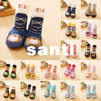 baby slipper boots - Baby Boy Girl Socks Anti Slip Newborn Animal Cartoon Shoes Slippers Boots