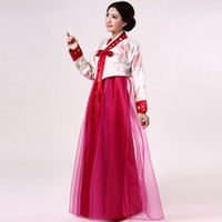 Wholesale Dae Jang Geum Korean costume adult costumes ethnic clothing Hanbok Korean traditional dance female models