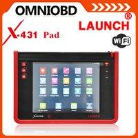 Wholesale LAUNCH Authorized Dealer Original Universal Car Diagnostic Computer Launch X431 PAD G WIFI Free Update