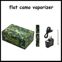 Single Multi camouflage flat e cigar epipe camo vaporizer dry herb vaporizer from vaporzone wax burner electronic cigarette 0211158