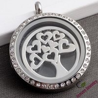 Wholesale glass living locket plates newst design love life tree floating locket charm plate fit memory floating locket