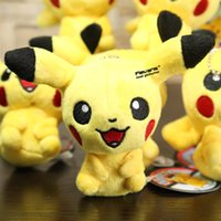 Wholesale Anime Cartoon Pikachu Plush Toys Dolls with Ring Soft Stuffed Dolls cm Styles