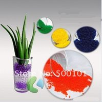 ad retail - 1000bag g bag Magic Plant Crystal Soil Mud Water Beads Pearl ADS Jelly Retail Pack Colors u pick by DHL