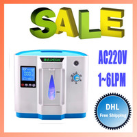 Wholesale AC V L Home use oxygen concentrator oxygen bar oxygen therapy ultra quiet oxygen concentrators with remote controller