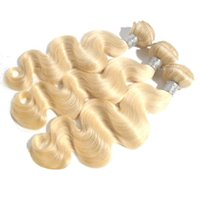 best sewing machines - 613 Blonde Virgin Hair Body Wave A Top Bundles Cheap blonde hair extensions sew in Weaves best quality