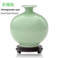 arts crafts home decorating - Jindezhen antigue imitation ceramic vase decorate art and crafts for home decor