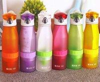 Wholesale South Korea s new lemon juice fruit cup cup vitality bottle portable cup lemon cup Scrub