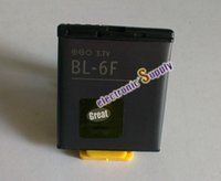 Cheap Free shipping BL-6F battery 6f recharger replacement li-ion Battery for Nokia N95 8Gb N78 N79 cell phone accessories