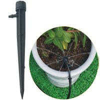 Wholesale Garden Irrigation Supplies Drip Irrigation Sprinkler Eight hole Watering Adjustable Degree Revolve drip irrigation emitters