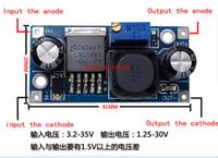 Wholesale 100PCS LM2596S LM2596 LM2596S ADJ Power supply module DC DC Step down module V V V adjustable Voltage regulator A