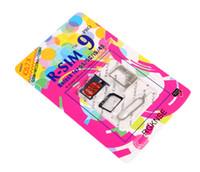 Wholesale R SIM RSIM9 R SIM9 Pro Perfect SIM Card Unlock Official IOS ios RSIM for iphone S G S C GSM CDMA WCDMA G G