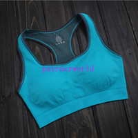 Wholesale Absorb Sweat Quick Drying Professional Sports Bra Top Vest Running Wireless Running Underwear for Women Without Steel