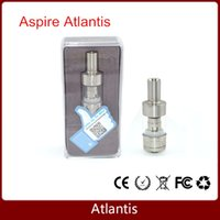 ecigs - Aspire Atlantis atomizer huge capacity sub ohm clearomizer BVC coils airflow control atomizer kit for ecigs