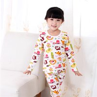 Wholesale Cartoon Children Pajamas Sleepwear Baby Cloth Cloth Winter Protection Kids Clothes Children Clothing Hot Sale