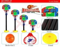 Cheap XC8801B Hot Baby Toys  Children Sports Basketball Toys Set  Basketball Stands with Tie Pump Outdoor & Indoor Toy