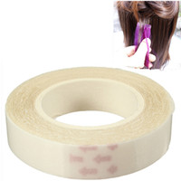 double sided adhesive tape - New Roll Water Proof Double Sided Tape PU Hair Extension Human Wig Adhesive Glue Tapes Styling Tools