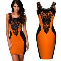 achat en gros de robes d'été jaune pour pas cher-En ligne de grosses robes demoiselle d'honneur robe 07 robe de soirée jaune, orange, bleu
