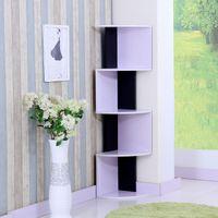 Wholesale Creative reduced triangular Wine storage cabinet IKEA fan corner cabinet