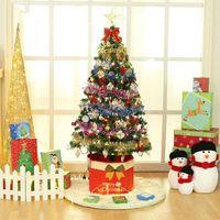 christmas box - Hot latest Design christmas decorations artificial christmas trees Foot Christmas tree box ornaments Non woven Christmas tree x36cm box