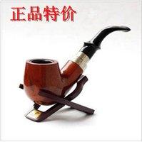Cheap Wool bakelite smoking pipe handmade wood smoking pipe briar classic
