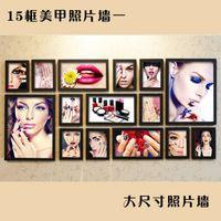 beauty shop photos - 15 box photo wall nail cosmetics shop beauty salon cosmetics shops backdrop mural wall painting SPA clubs d1073 d1073