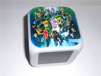 alarm clock features - LED Digital Alarm Clock Zelda th Aniversary Link Pattern Colors Change Automatically with Snooze Feature Thermometer