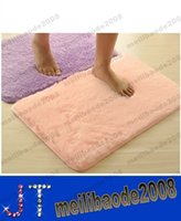 Wholesale New Soft Non slip Mats Skidproof Carpet Mat For Home Floor Bathroom Bedroom Decoration Mix Colors MYY14610