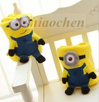 blankets - Kids Minions blankets Cartoon air conditioning blankets Despicable me nap blanket pillow cushion office blankets plush toys dolls A445