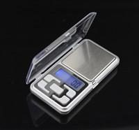 pocket scales - hot sale Original factory g x g Mini jewelry pocket LCD Digital Scale Electronic Scale Weight Scale backlight