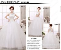 beaded business training - Increase women s wedding dress business attire fashion wedding clothing lace mesh Satin support new custom