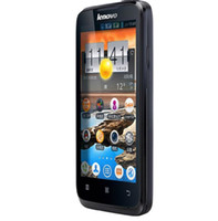 Wholesale the cheapest Original Lenovo A316 MTK6572 dual core Android mobile phone MP Support Russian menu G WCDMA GSM GPS black in stock