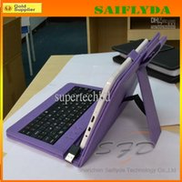 best tablet pc with keyboard - Hot Best Selling Colors Leather Case USB Keyboard with Stylus Pen For quot Tablet PC