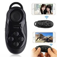 Wholesale Mogoi Bluetooth Autodyne Artifact Wireless Mini Game Remote Controller Phone Camera Shutter Release Self Timer Black