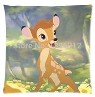 bambi case - Cartoon Kid Bambi Pillow Cases x inch Excellent Quality Soft Pillowcase